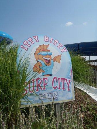 Raging Rivers: Itty Bitty Surf City (Kiddie Area)