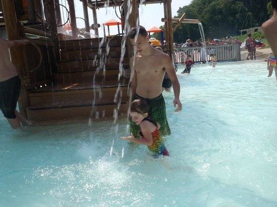 Raging Rivers: Playing in the Water...