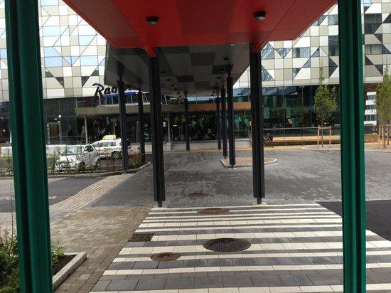 Radisson Blu Riverside Hotel, Gothenburg : Main Entry to Hotel