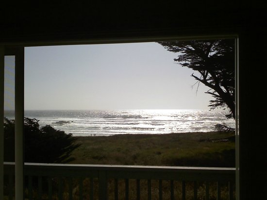 The Beachcomber Motel and Spa on the Beach: View from Room