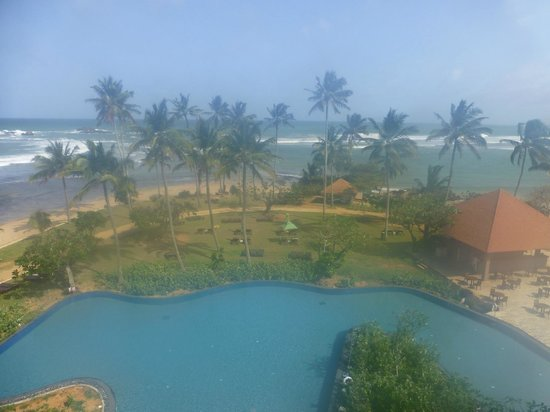 Hikka Tranz by Cinnamon : view from our room