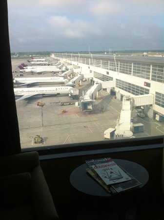 The Westin Detroit Metropolitan Airport : View from room