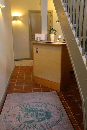 Hotell Oskar: Our little reception