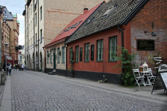 Hotell Oskar: A small town-house around 150 years old