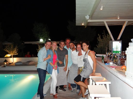 Bellonias Villas : With the Crew!