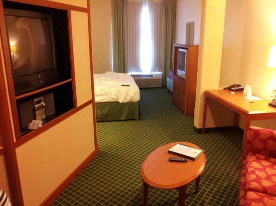 Fairfield Inn & Suites Fairfield Napa Valley Area: Living Room
