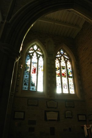 St. David's Cathedral: One of many gorgeous windows