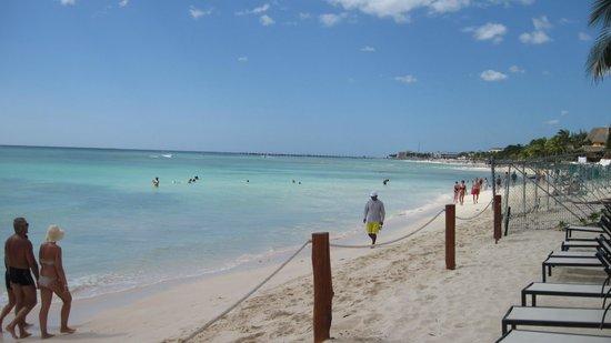 The Elements Oceanfront & Beachside Condo Hotel: Beach view from The Elements private beach area
