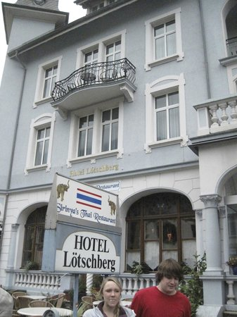 Hotel Lotschberg & Susi's B&B: Hotel Lotschberg