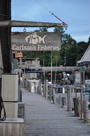 Docks at Fishtown