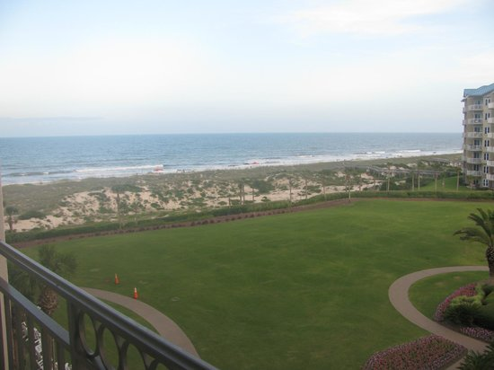 The Ritz-Carlton, Amelia Island: View from room #507