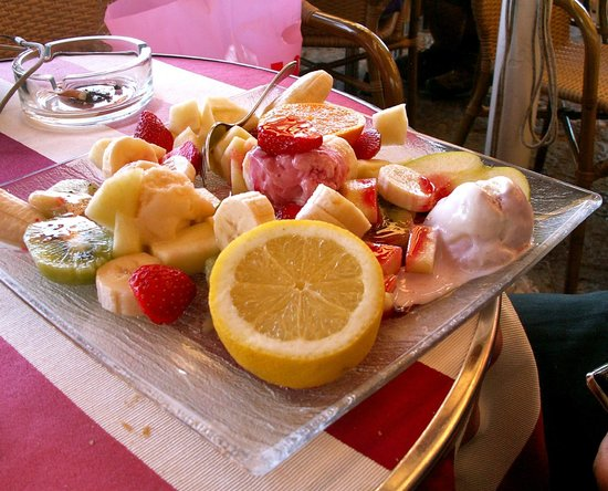 Bar Aprea: quelle salade de fruits!