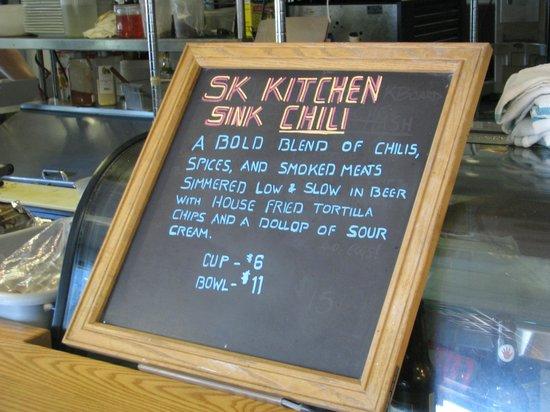 Scratch Kitchen Menu scratch kitchen chili menu, salem, ma. - picture of scratch