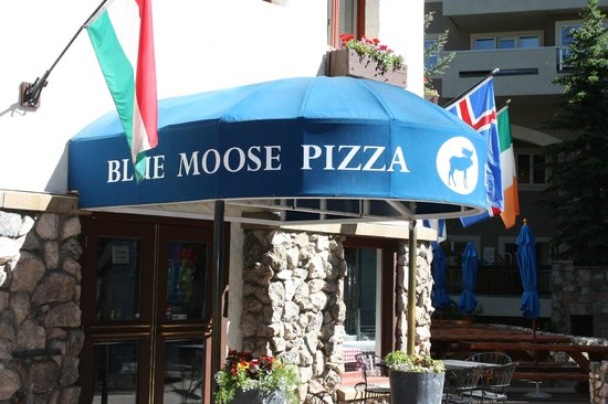 Blue Moose: Entrance and patio