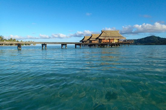 Vahine Island Resort & Spa: Over the water bungalows