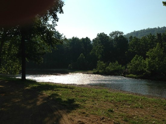 Riversedge Campground : View from campground