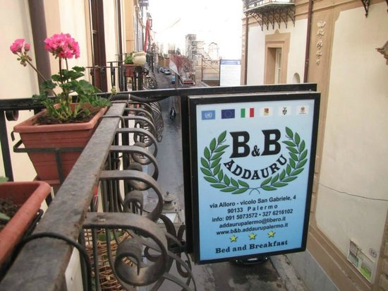 B&B Addauru: via Alloro