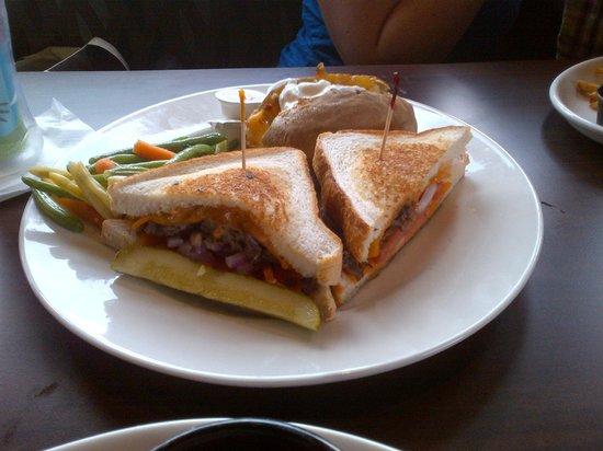 Tony Roma's: Sirlion Cheddar Sandwich