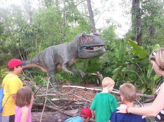 Minnesota Zoo: Dinosaur exhibit
