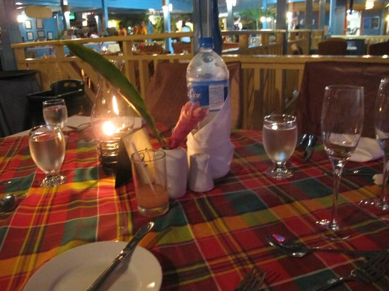 Hi Tide Restaurant at Bay Gardens Beach Resort: Dinner at Hi Tide