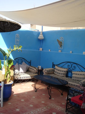 Dar Dada Mouss: sun terrace again - think I must have like it!!!