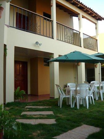 Residencial Santa Catalina : Patio del Residencial