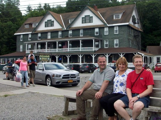 Adirondack Hotel on Long Lake : The hotel