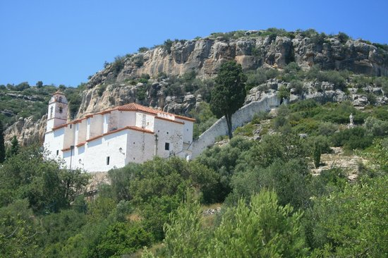 Ulldecona, Spain: the ermita