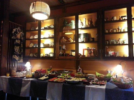 Villa Japonica: Breakfast