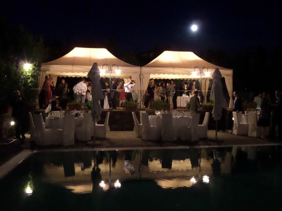 Villa Le Piazzole: our wedding dinner