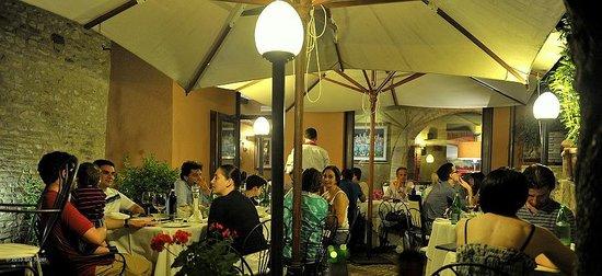 Ristorante Coccorone: het restaurant-buiten