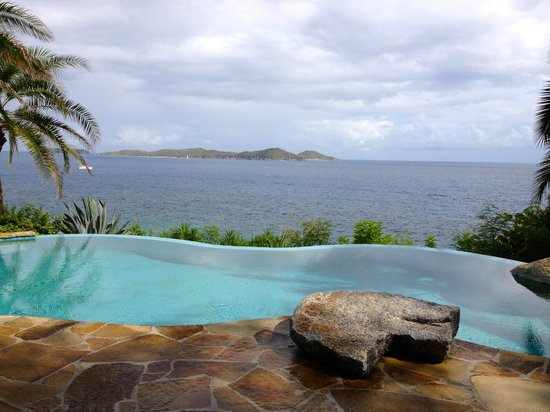 Rosewood Little Dix Bay: Spa view