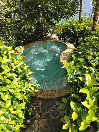 Rosewood Little Dix Bay: Spa hot tub