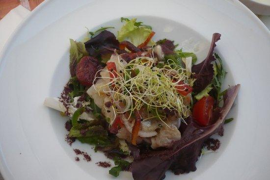 salade de saison à l'Iposa
