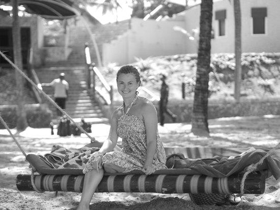 Amani Tiwi Beach Resort: отличный ухоженный пляж