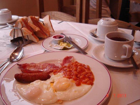 Gower Hotel: Full english breakfast.