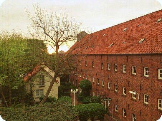 Romantik Hotel Reichshof: Hotelgelände