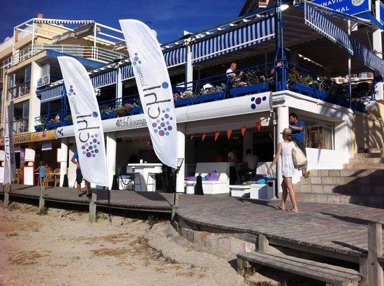 Chi Lounge Mallorca: By day