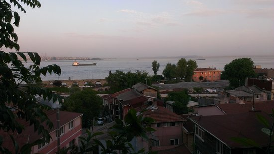 Poem Hotel Istanbul: the view from our room