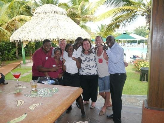 Coco Palm Resort: last day with some of the Coco Palm Team :)