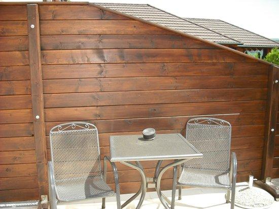 Hotel Degenija : Our private patio