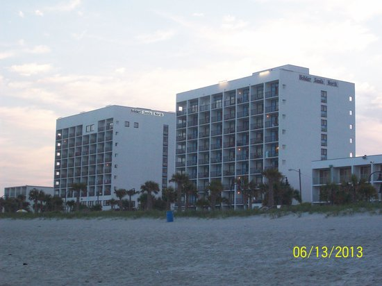 view from the beach picture of holiday sands north. Black Bedroom Furniture Sets. Home Design Ideas