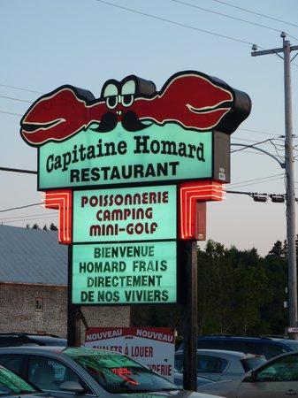 Enseigne Capitaine Homard