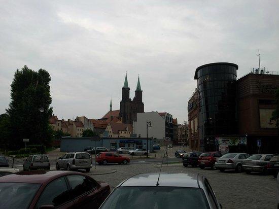 Qubus Hotel Legnica: Legnica town