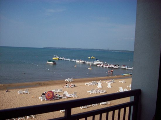Parkshore Resort: View from second floor balcony
