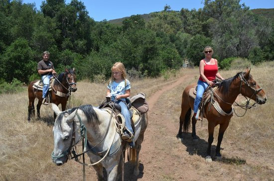 Circle Bar B Guest Ranch: trail ride