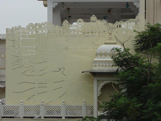 Hotel Mahendra Prakash: View from terrace