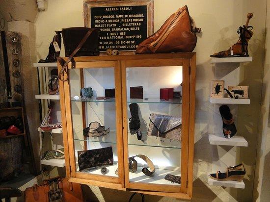 Alexis Fasoli : un mostrador en la tienda