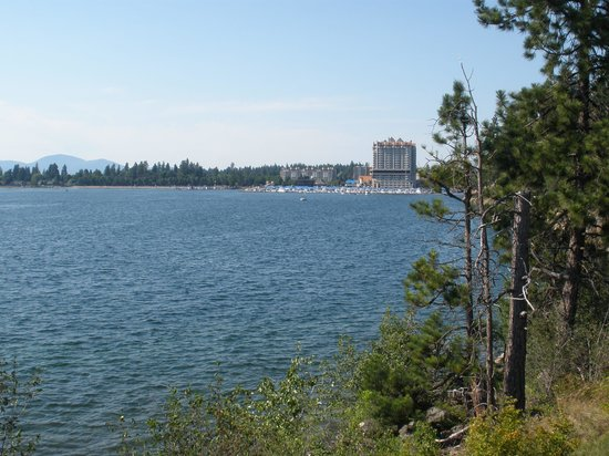 The Coeur d'Alene Resort: Tubs Hill