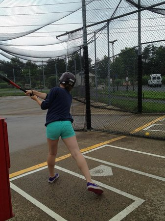 Clifton, VA: Batting in the rain